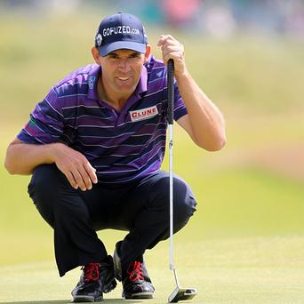 Ireland's Padraig Harrington has his work cut out to make the Ryder Cup team