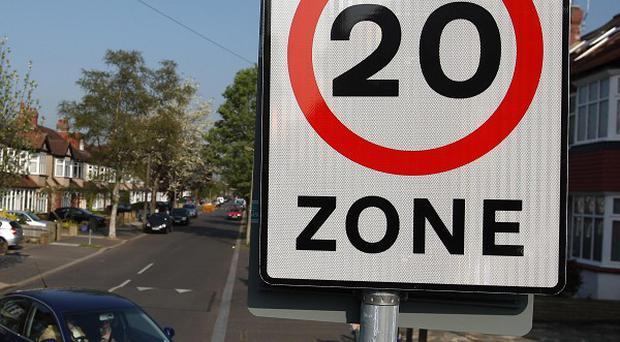 Road casualties in 20mph zones increased by almost a quarter in 2011, according to official figures