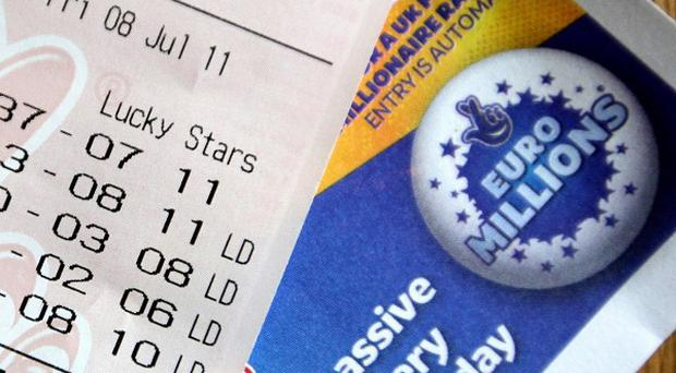 A gigantic prize is on offer for the lucky winners of the EuroMillions draw