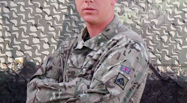 Lance Corporal Matthew Smith died after being shot in the Nad-e Ali district of Helmand Province, Afghanistan (MoD/Crown Copyright/PA)