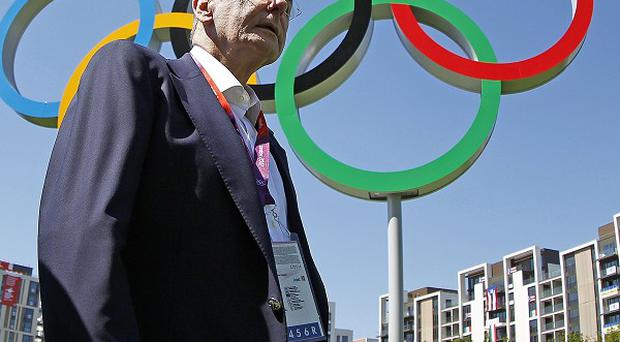 IOC chief Jacques Rogge said he was very happy with the London Olympics and very grateful to the organisers for their efforts