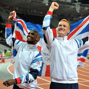BOA chairman Lord Moynihan the medallists of Team GB at London 2012, included Mo Farah and Greg Rutherford should join the honours list
