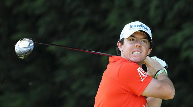 Rory McIlroy is close to sealing his second major title