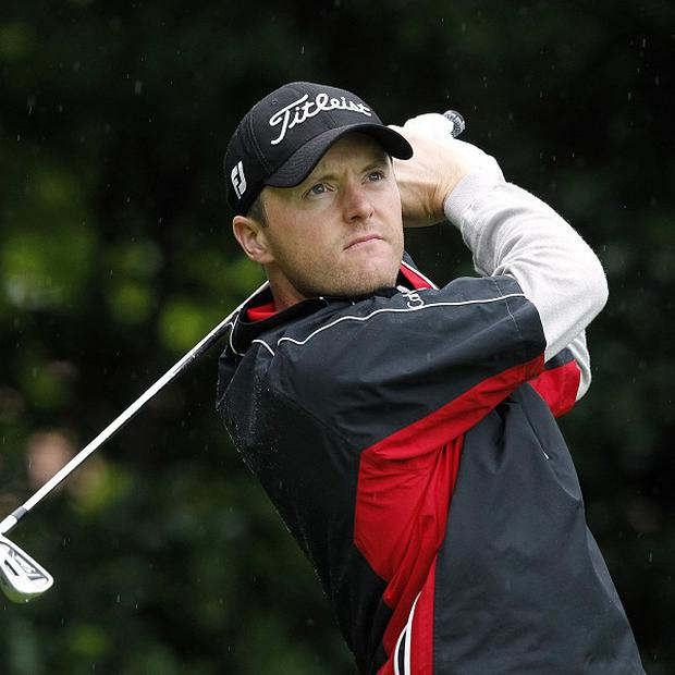 Michael Hoey fired a second-round 70 at the USPGA Championship in vain