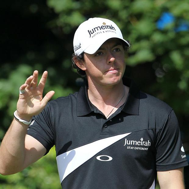 After winning the USPGA, Rory McIlroy is once again top of the world rankings