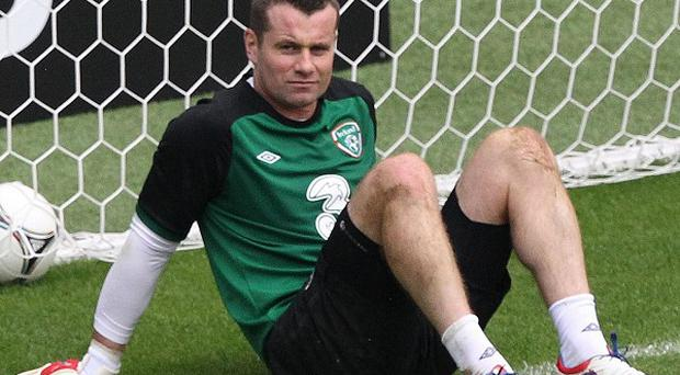 Ireland's Shay Given has announced his retirement from international football