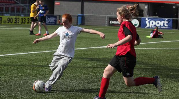 Interface Soccer Sevens Tournament at Seaview Stadium in North Belfast