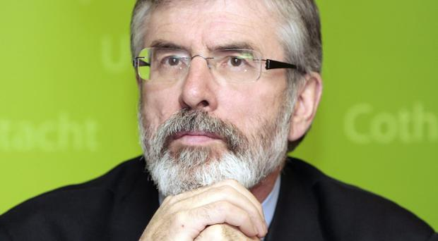 Sinn Fein have defended Mr Adams' poor attendance record by suggesting that he was busy travelling widely around the country and working in Northern Ireland