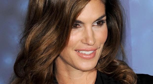 Cindy Crawford is still modelling at the age of 46