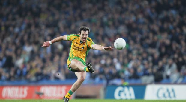 Donegal skipper Michael Murphy can set the tone for his team's display against Cork