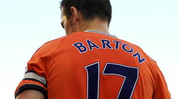 Suspended Joey Barton has lost his number 17 to Ryan Nelsen