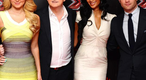 X Factor judges joined the press launch of this year's show