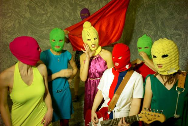 Masked marauders: Russian punk rockers Pussy Riot