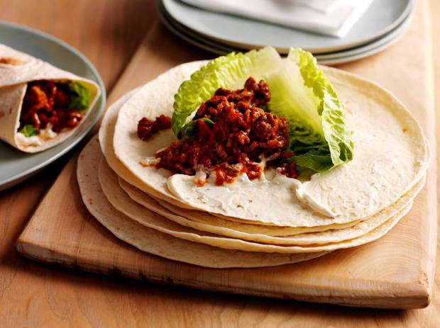 Easy to pack mince wraps