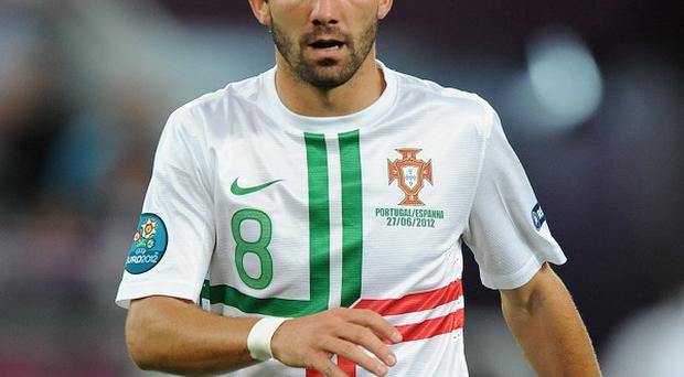 Andre Villas-Boas says it is unlikely Tottenham will sign Joao Moutinho, pictured