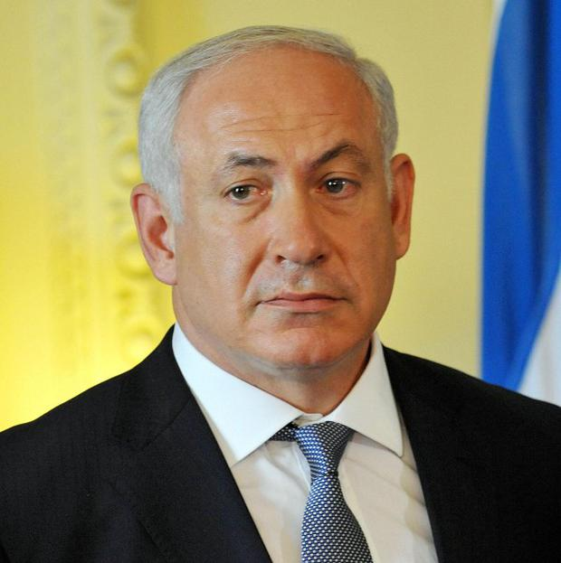 Israeli prime minister Benjamin Netanyahu has condemned a suspected firebomb attack which injured six Palestinians in the West Bank