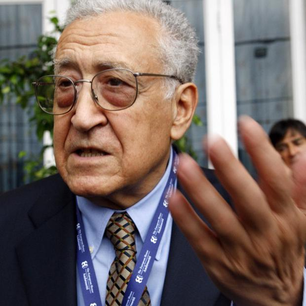 Former Algerian foreign minister Lakhdar Brahimi will be the new UN peace envoy to Syria (AP)