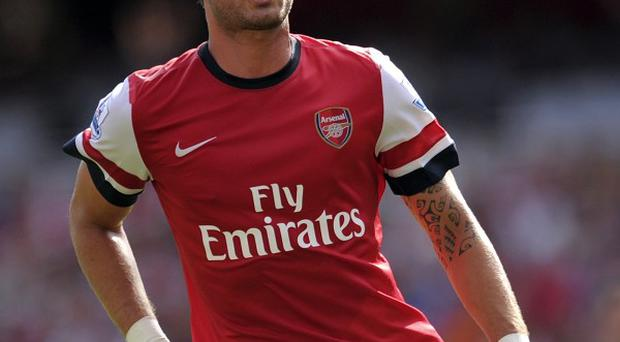 Olivier Giroud has asked for patience from the Arsenal supporters