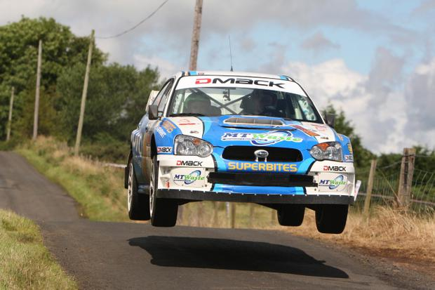 Darren Gass took a comfortable win at the Todds Leap Ulster Rally to put himself in pole position for the Irish Tarmac championship