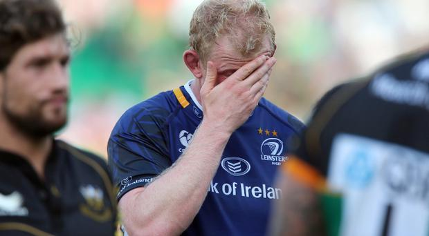 Leo Cullen started for Leinster against Northampton