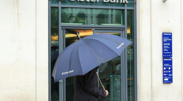 The rainy day arrived for many Ulster Bank customers after computer chaos two months ago. Ulster Banks says it's 'business as usual' for most accounts, but some customers are still affected