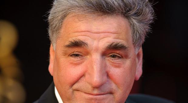 Jim Carter plays stoical butler Carson in Downton Abbey