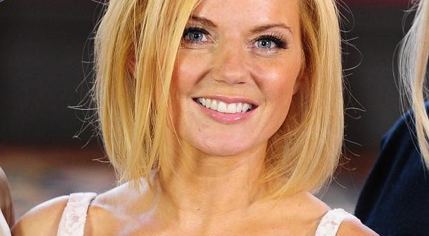 Geri Halliwell said her Olympics performance was held on her late father's birthday