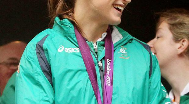 Olympic Gold Medal boxer Katie Taylor