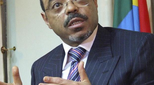David Cameron said Ethiopian prime minister Meles Zenawi had set an example for the African region