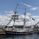 Up to a million people are expected in Dublin this weekend for the end of the prestigious Tall Ships Race