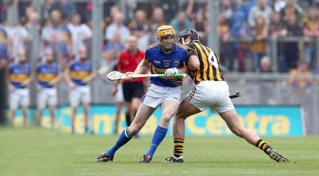 Top marksman Lar Corbett of Tipperary was sent to do a spoiling job against Kilkenny