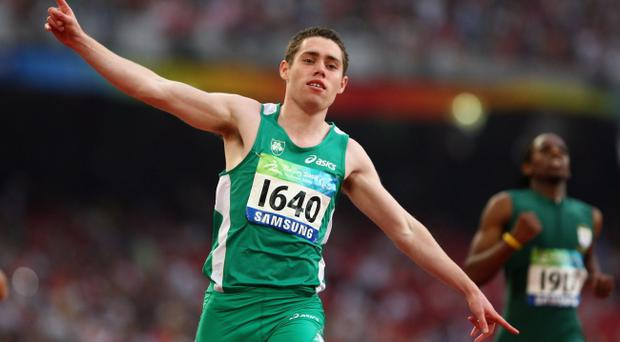 Jason Smyth is concentrating on qualifying for the Olympics in Rio