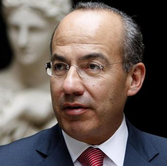 Mexico's President Felipe Calderon has deployed tens of thousands of soldiers to crack down on drug traffickers