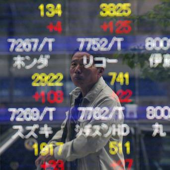 Japan slipped back into a trade deficit in July