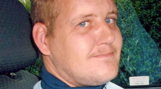 Carrickfergus man Mark Gourley, who police now believe was murdered.