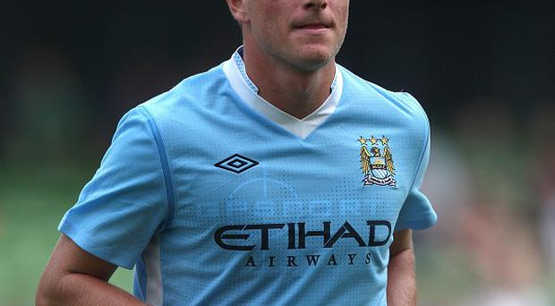 Manchester City's John Guidetti is keeping his options open