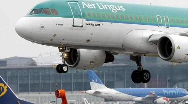 Passengers arriving at Dublin airport have been left stranded by taxi drivers after they staged an unannounced strike