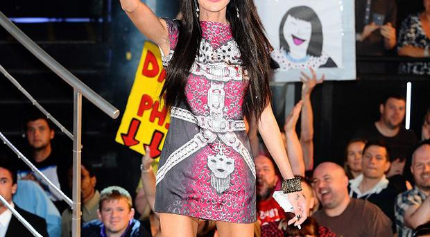 Jasmine Lennard leaves the Celebrity Big Brother house