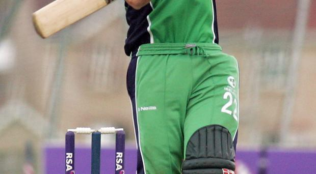 Kevin O'Brien will be in Somerset colours on Saturday