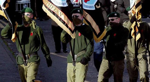 The UDA has been accused of making a threat against a journalist