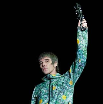 The Stone Roses dedicated a song to George Best at a gig in his home city of Belfast