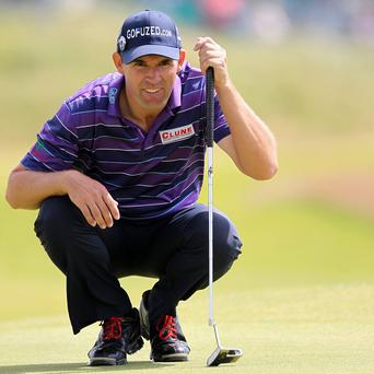 Padraig Harrington hopes to land a wild card to represent Europe at the Ryder Cup