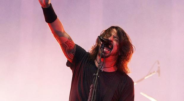 The Foo Fighters perform at Tennants Vital in Boucher Playing Fields
