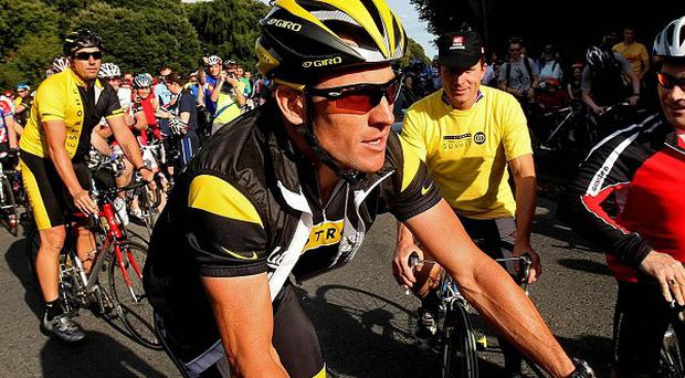 Tour de France winner Lance Armstrong