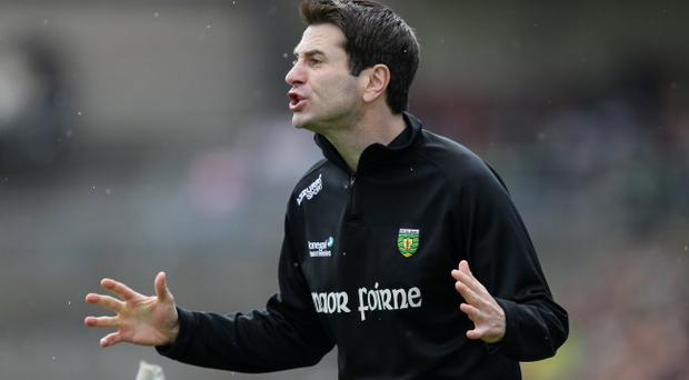 Donegal assistant manager Rory Gallagher has made a big impression