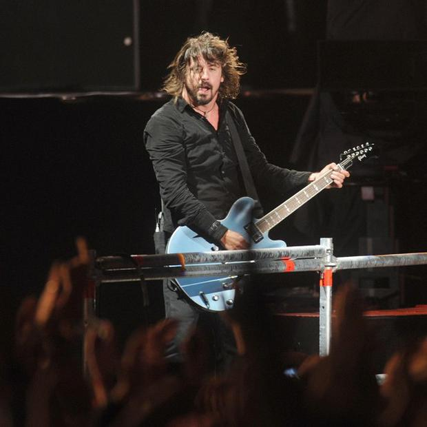 The Foo Fighters were among the acts appearing at Tennent's Vital