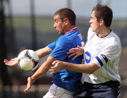 Matthew Tipton (left) expects the Linfield bandwagon to start rolling soon