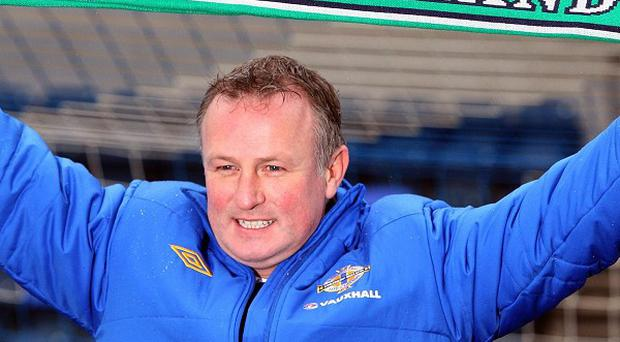 Michael O'Neill took over following the departure of Nigel Worthington