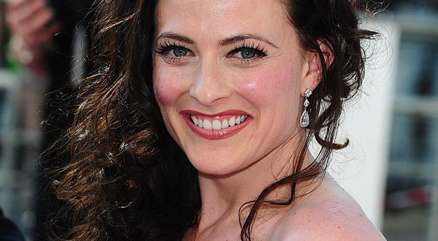 Lara Pulver appeared in Sherlock entirely naked except for her high heel shoes