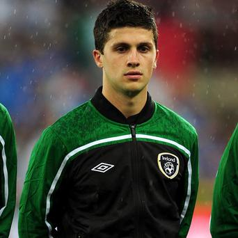 Shane Long was absent from Ireland's team against Serbia